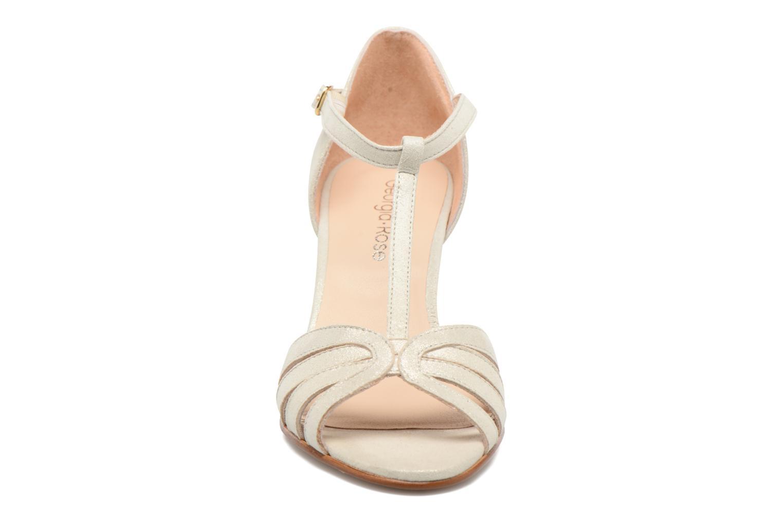 Sandales et nu-pieds Georgia Rose Salapa Blanc vue portées chaussures