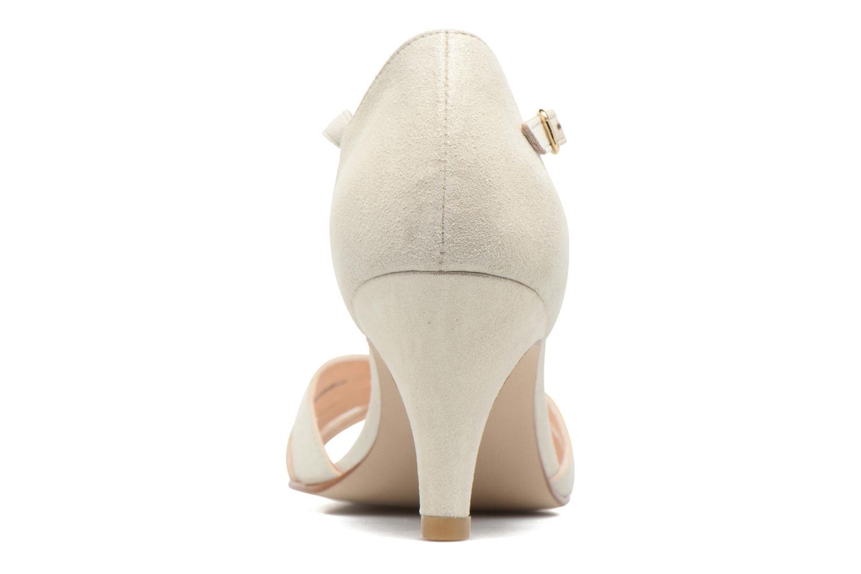 Salapa Cuir velours ivoire
