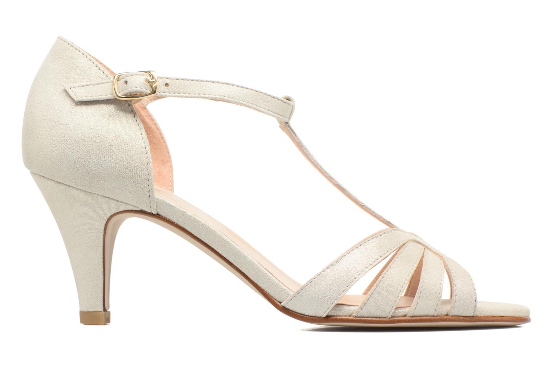 Sandales et nu-pieds Georgia Rose Salapa Blanc vue derrière