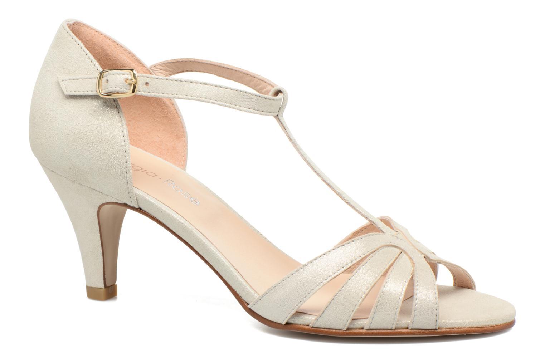 Sandales et nu-pieds Georgia Rose Salapa Blanc vue détail/paire