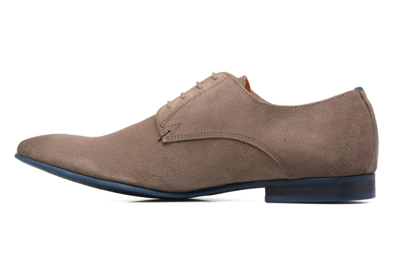Chaussures à lacets HE Spring Peter Marron vue face
