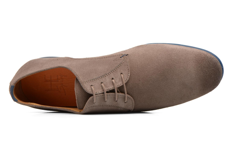 Zapatos con cordones HE Spring Peter Marrón vista lateral izquierda