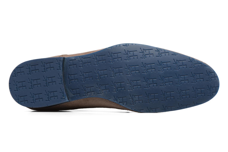 Chaussures à lacets HE Spring Peter Marron vue haut