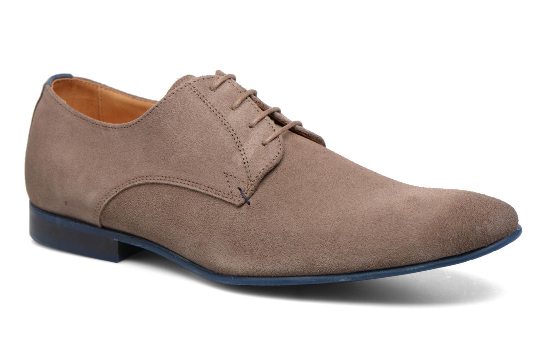 Chaussures à lacets HE Spring Peter Marron vue détail/paire