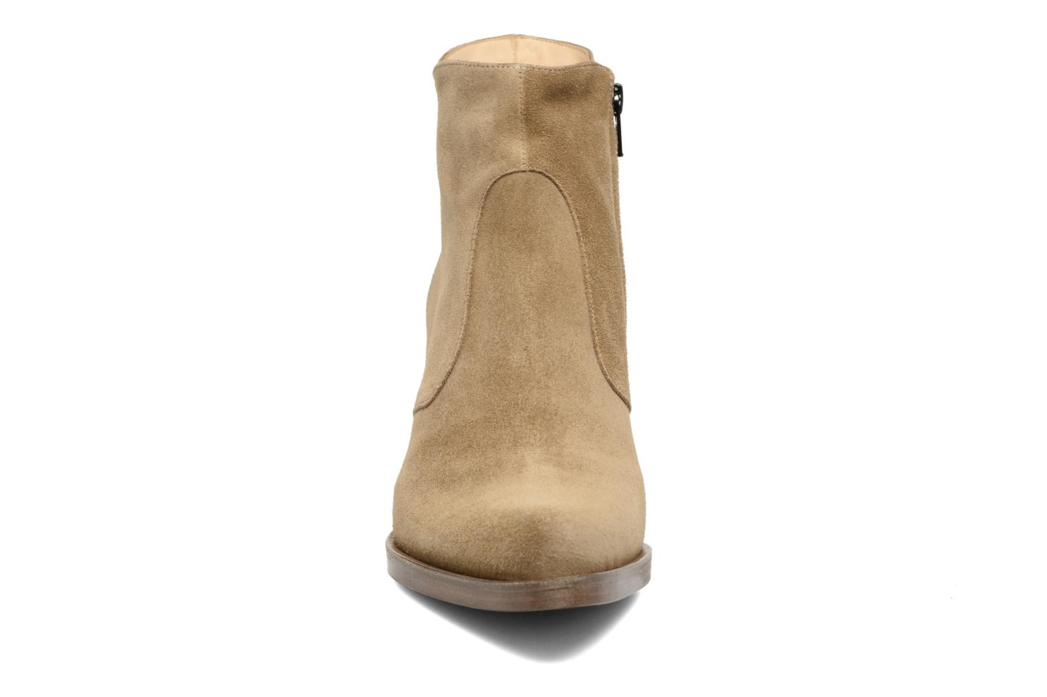 Paddy 7 Zip Boot Sonia extra taupe