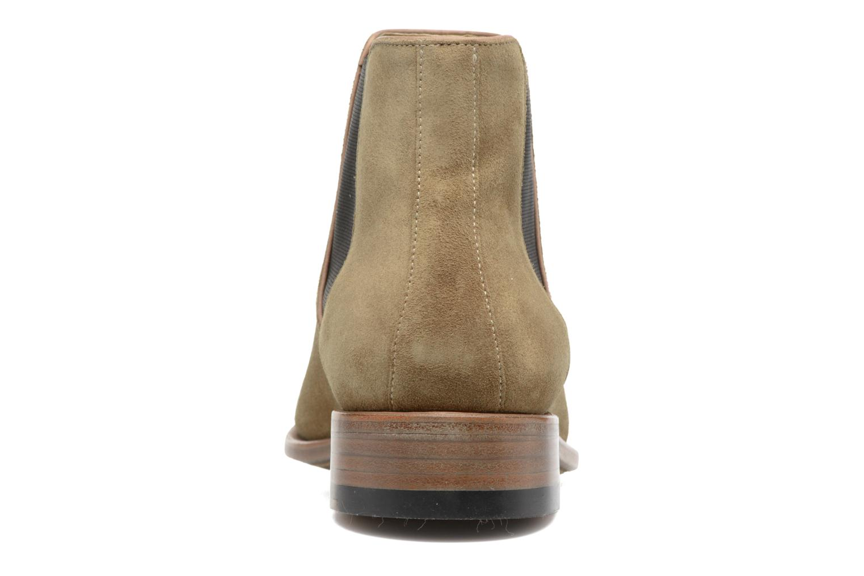 Bottines et boots Jean-Baptiste Rautureau Ron Jodphur Piping Beige vue droite