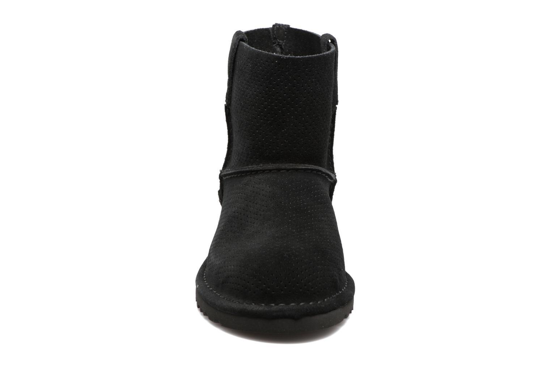 W Classic Unlined Mini Perf Black