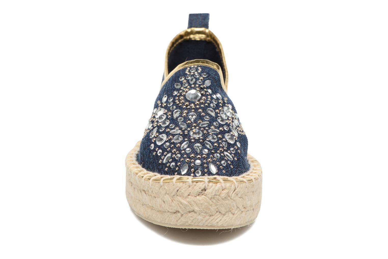 Espadrilles Colors of California Jenna Bleu vue portées chaussures