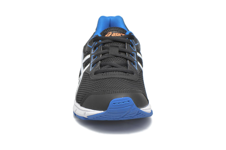 Baskets Asics Gel Galaxy 9 GS Noir vue portées chaussures