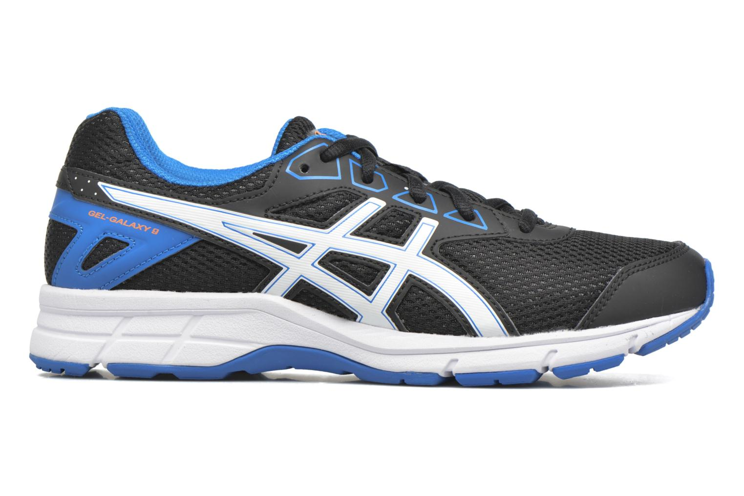Trainers Asics Gel Galaxy 9 GS Black back view