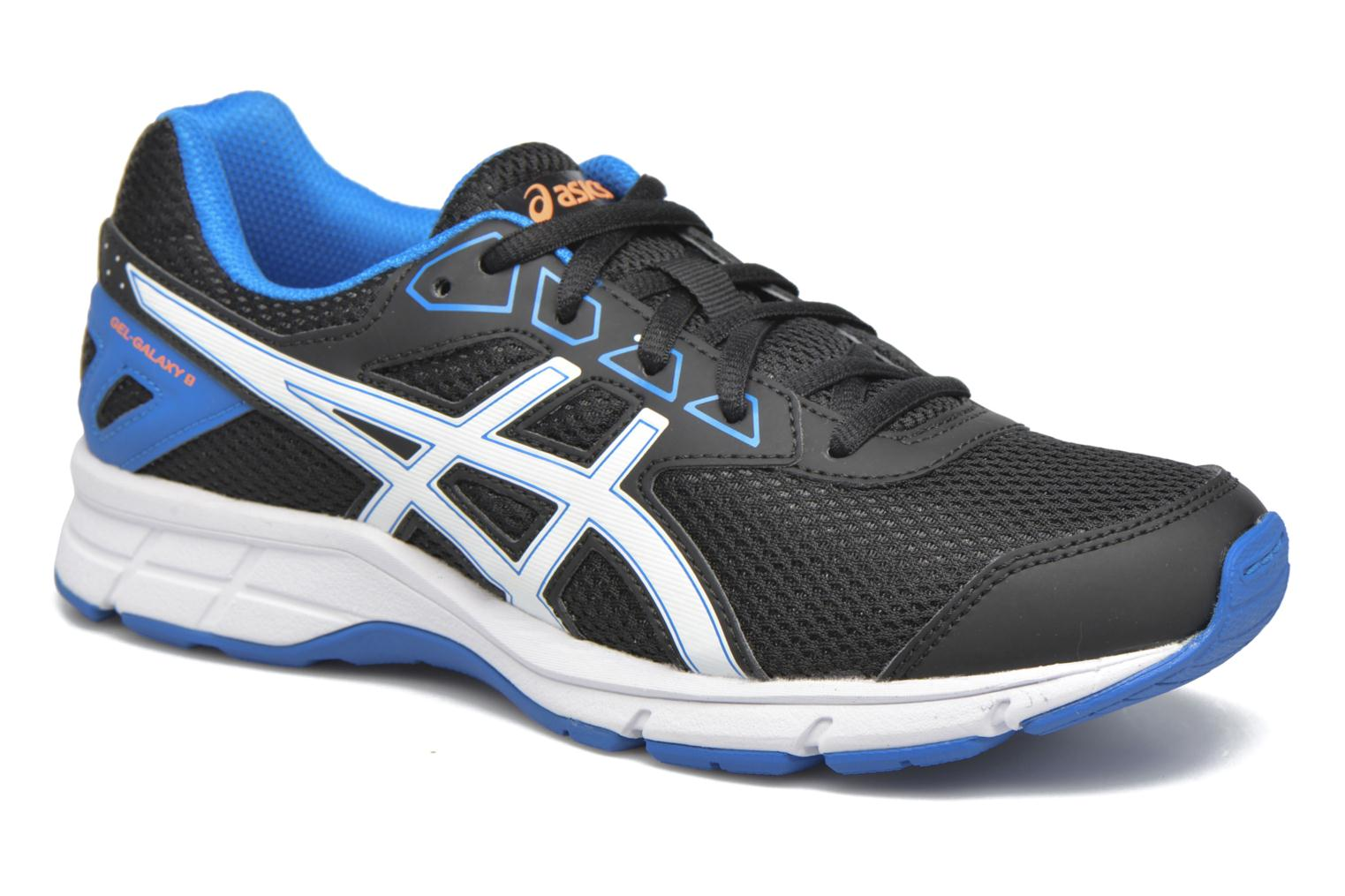 Trainers Asics Gel Galaxy 9 GS Black detailed view/ Pair view