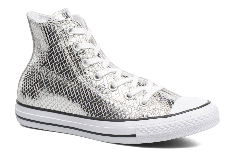 Grandes descuentos últimos zapatos Converse Chuck Taylor All Star Hi Metallic Snake Leather (Plateado) - Deportivas Descuento