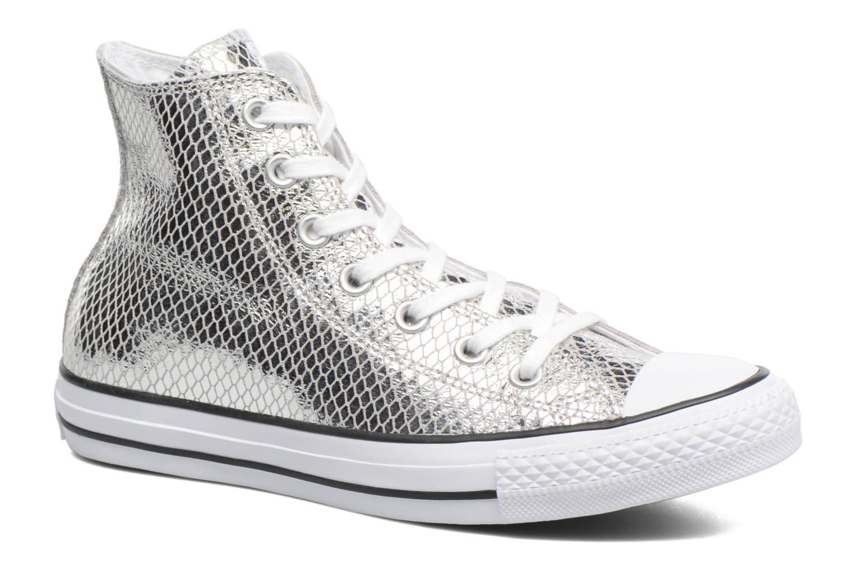 Zapatos promocionales Converse Chuck Taylor All Star Hi Metallic Snake Leather (Plateado) - Deportivas   Los últimos zapatos de descuento para hombres y mujeres