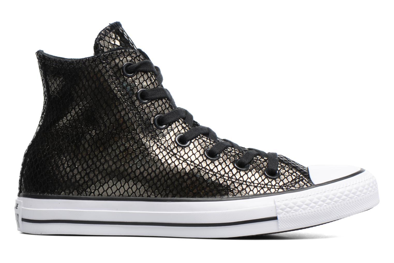 Sneakers Converse Chuck Taylor All Star Hi Metallic Snake Leather Nero immagine posteriore