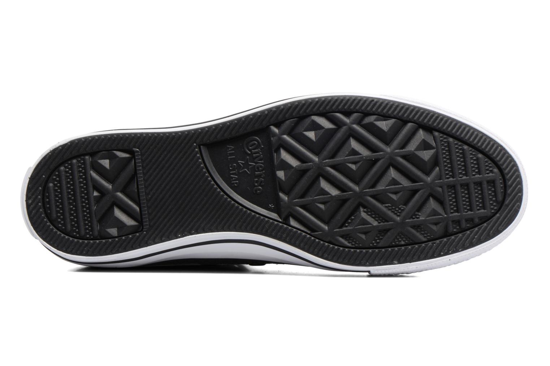 Sneakers Converse Chuck Taylor All Star Hi Metallic Snake Leather Nero immagine dall'alto