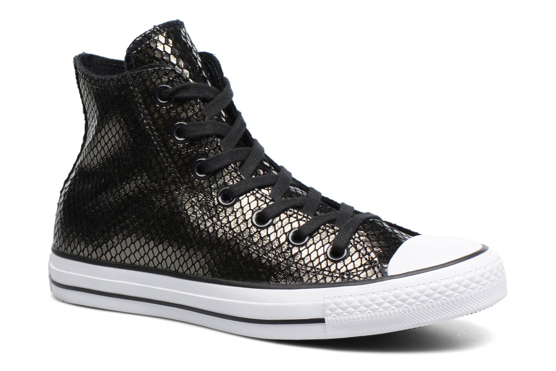 Sneakers Converse Chuck Taylor All Star Hi Metallic Snake Leather Nero vedi dettaglio/paio