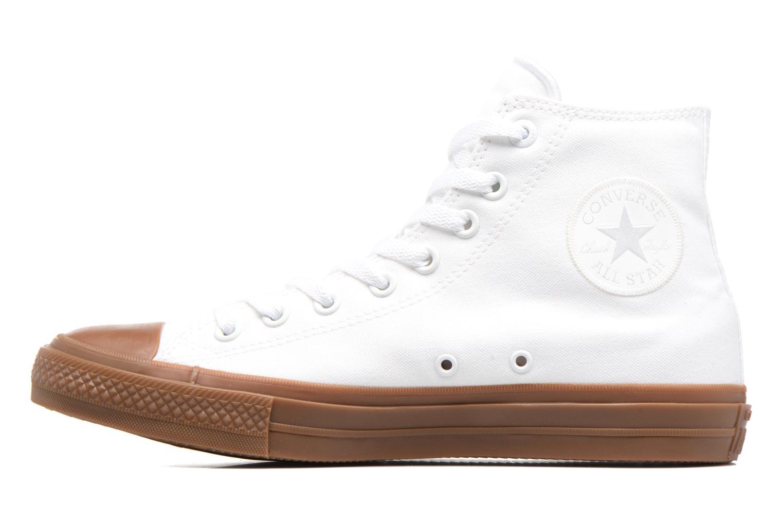 Baskets Converse Chuck Taylor All Star II Hi Tencel Canvas Blanc vue face