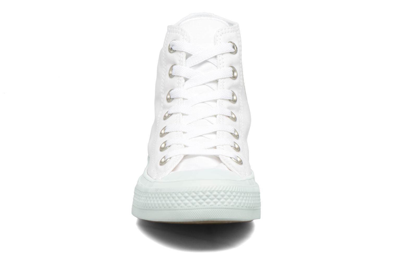 Baskets Converse Chuck Taylor All Star II Hi Pastel Midsoles W Blanc vue portées chaussures