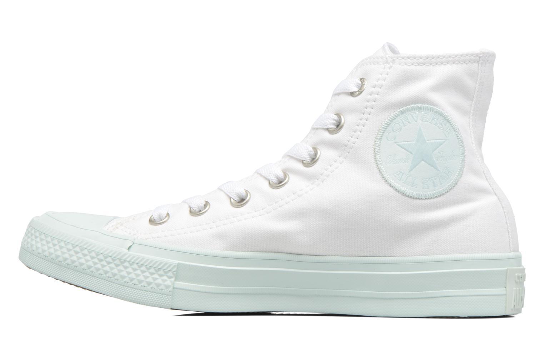 Baskets Converse Chuck Taylor All Star II Hi Pastel Midsoles W Blanc vue face