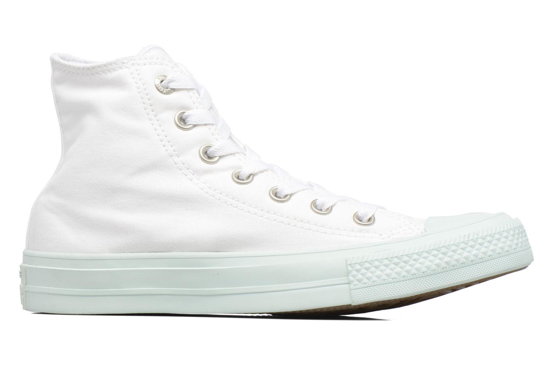 Baskets Converse Chuck Taylor All Star II Hi Pastel Midsoles W Blanc vue derrière