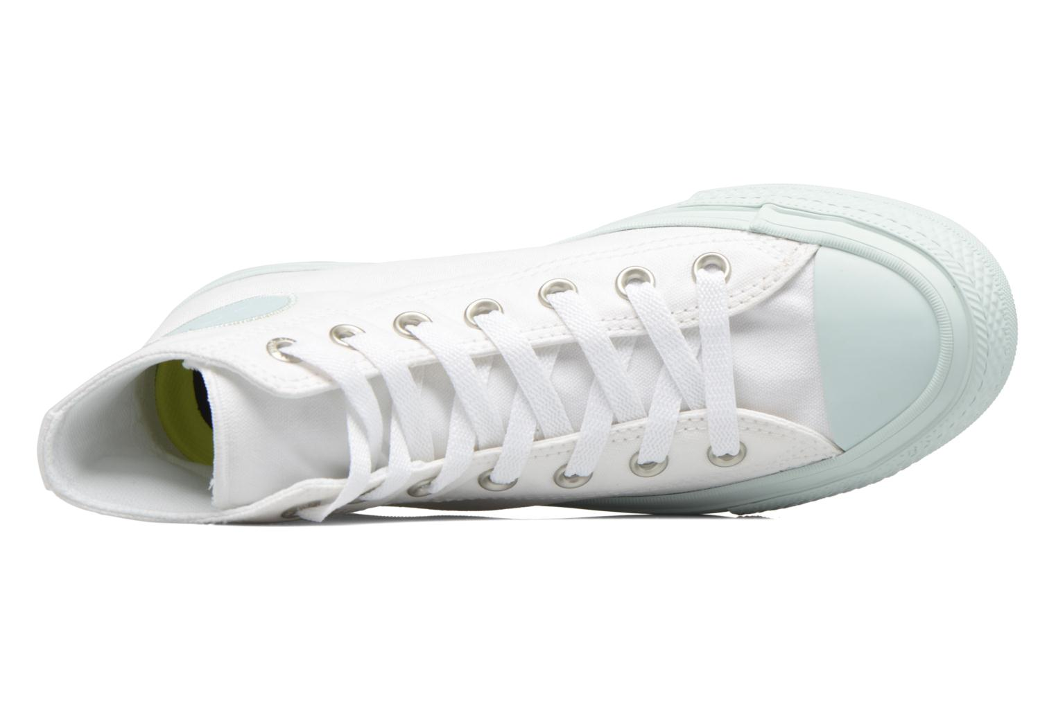 Sneakers Converse Chuck Taylor All Star II Hi Pastel Midsoles W Bianco immagine sinistra