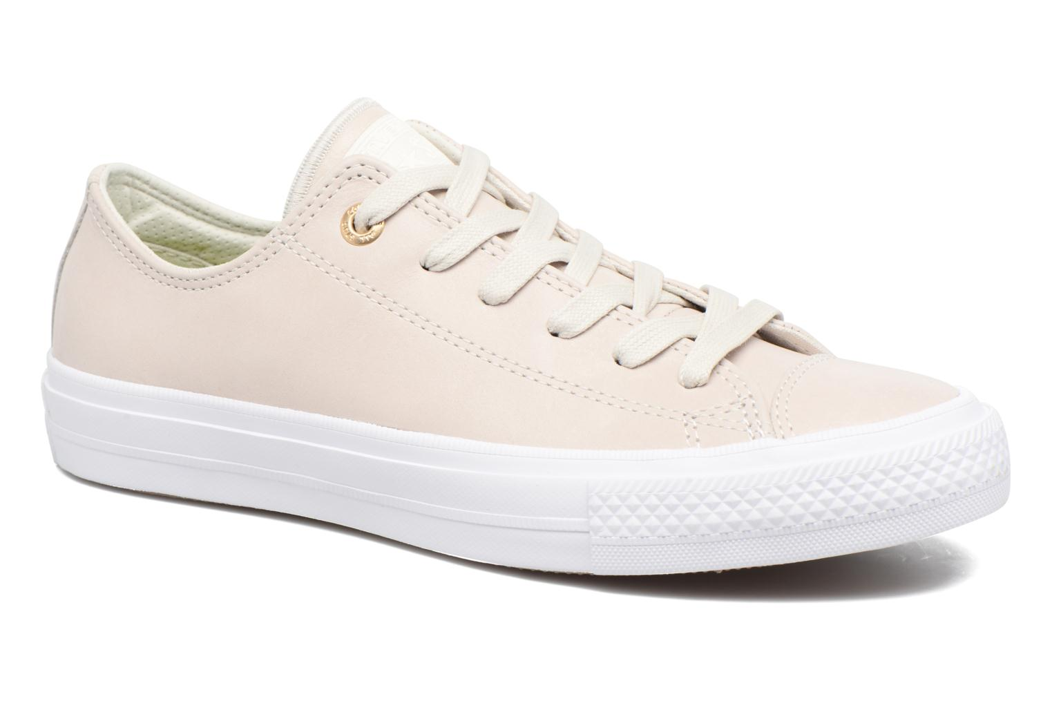 Chuck Taylor All Star II Ox Craft Leather Buff/Buff/White
