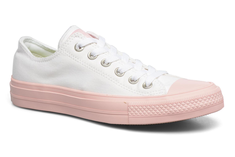 Zapatos cómodos y versátiles Converse Chuck Taylor All Star II Ox Pastel Midsoles W (Blanco) - Deportivas en Más cómodo