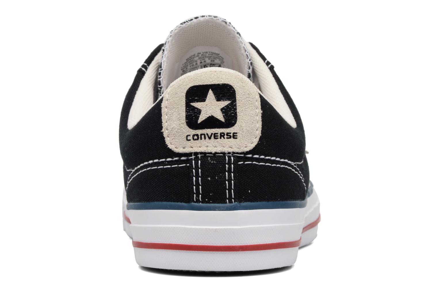 Baskets Converse Star Player Ox Evergreen Noir vue droite