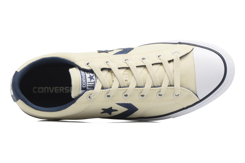 Baskets Converse Star Player Ox Fundamentals Beige vue gauche