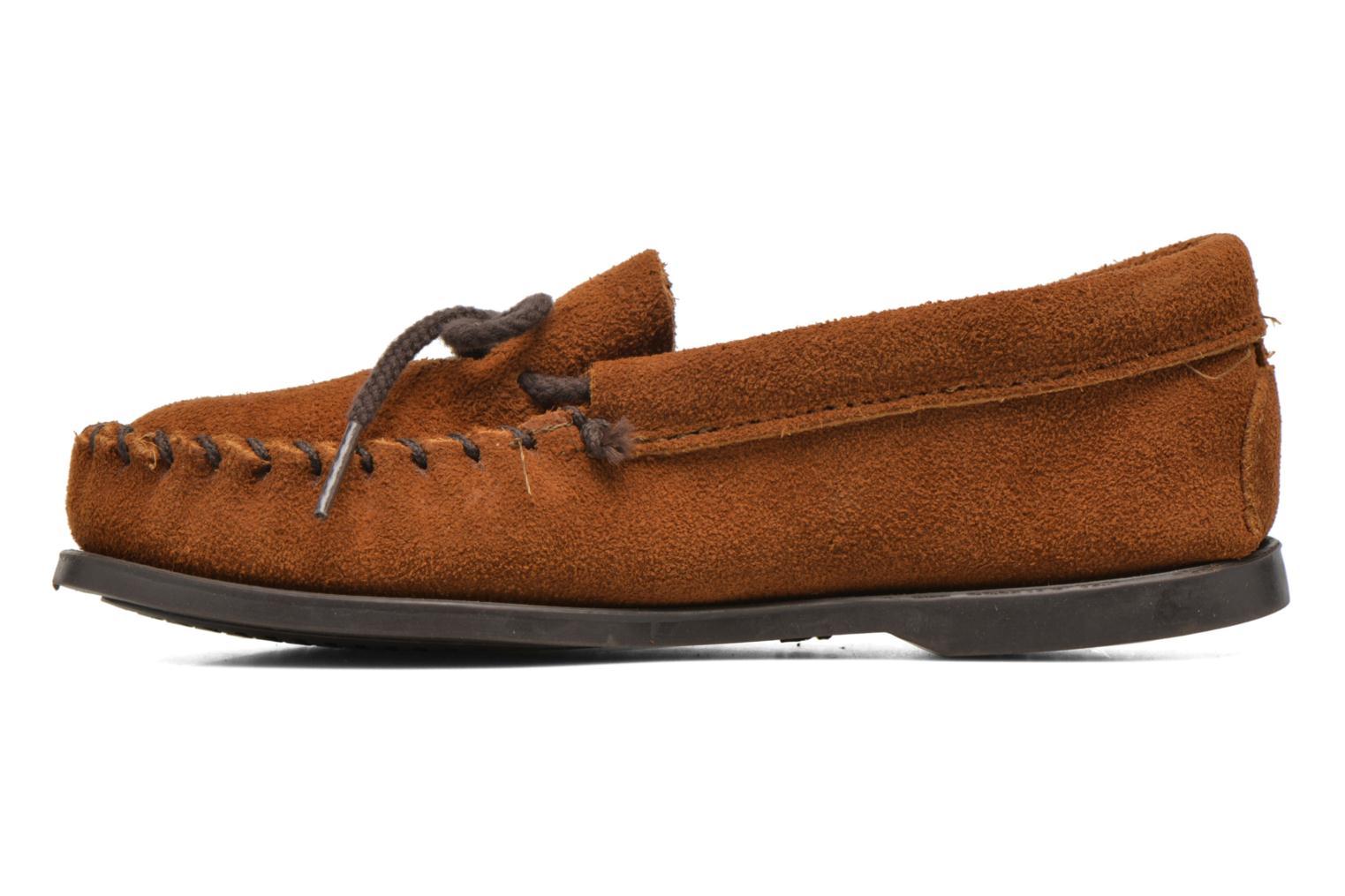 Unbeaded Classic Moc Brown Suede