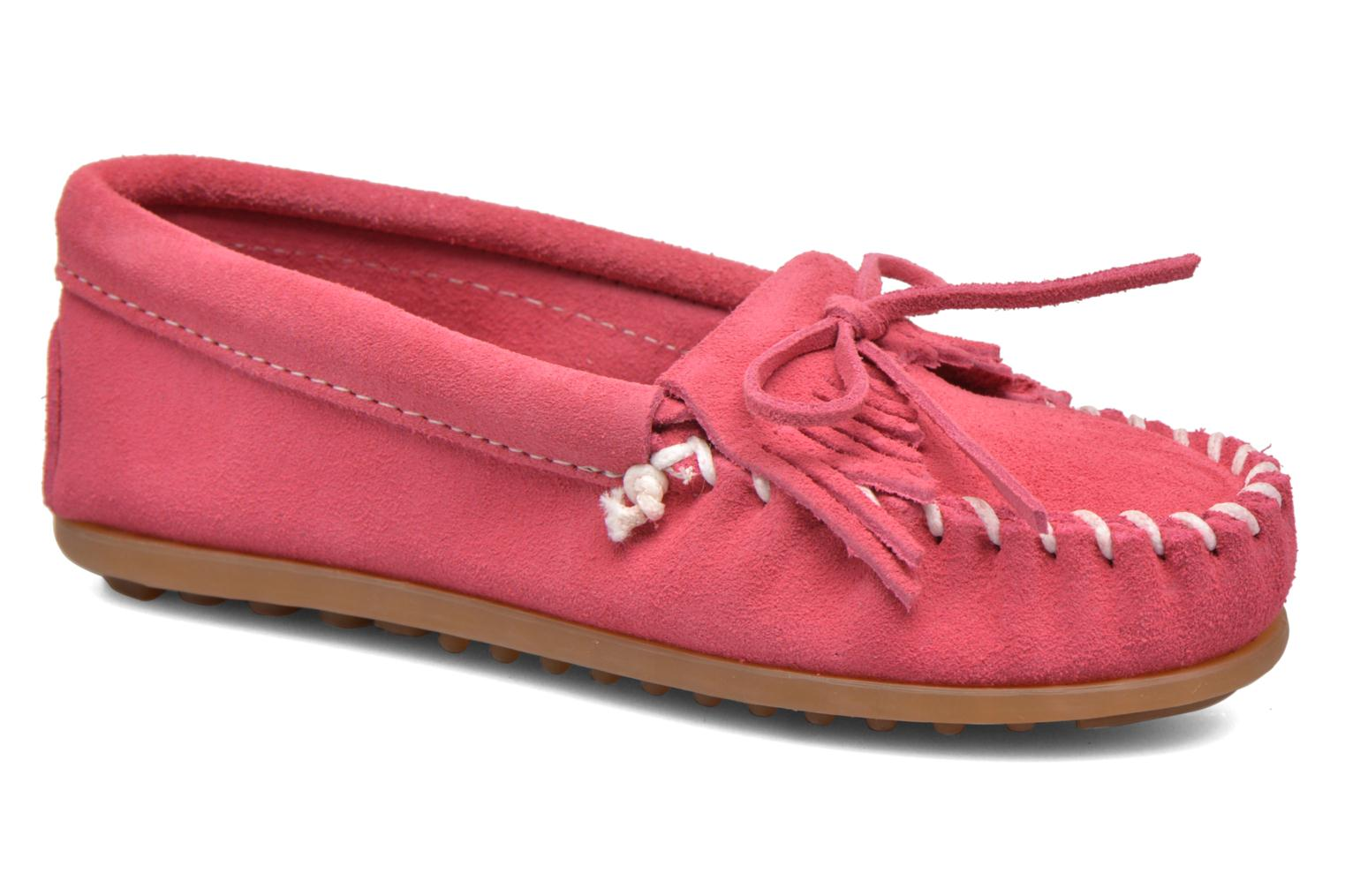 Kilty Moccasin E Hot Pink Suede