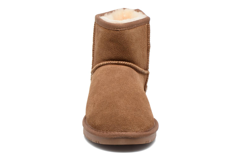 Vista Boot Gold Tan Suede