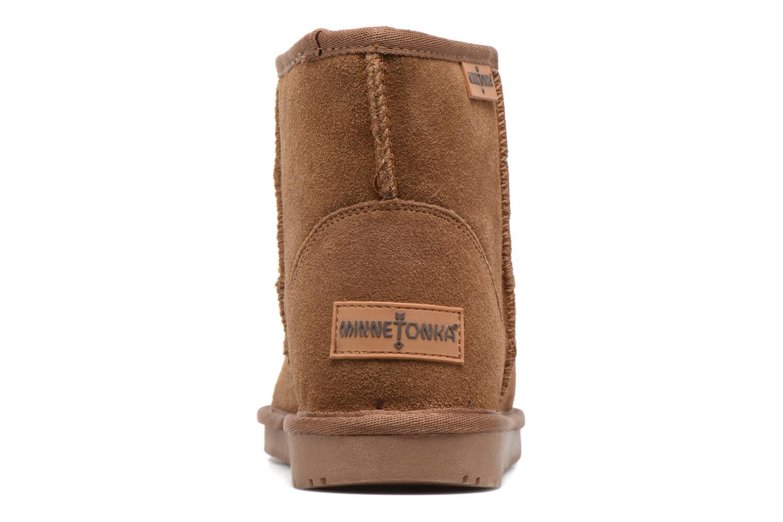 Bottines et boots Minnetonka Vista Boot Or et bronze vue droite