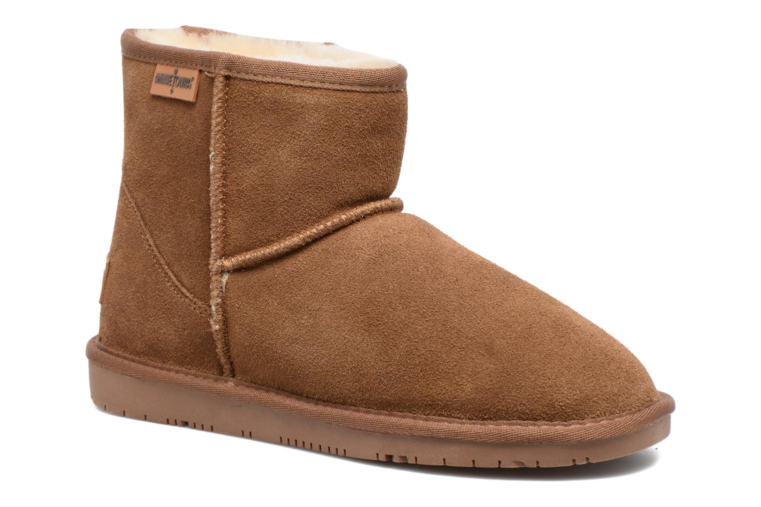 Vista Boot Gold Tan Suede