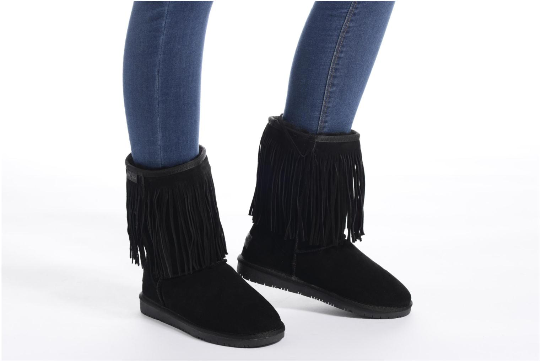 Bottines et boots Minnetonka Hyland Boot Noir vue bas / vue portée sac