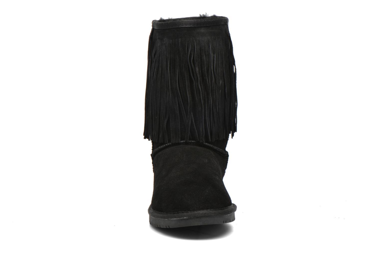 Bottines et boots Minnetonka Hyland Boot Noir vue portées chaussures