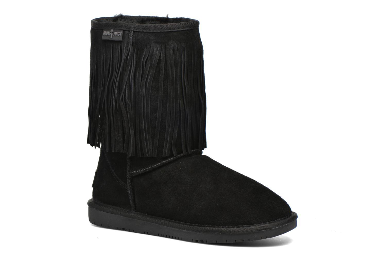 Bottines et boots Minnetonka Hyland Boot Noir vue détail/paire