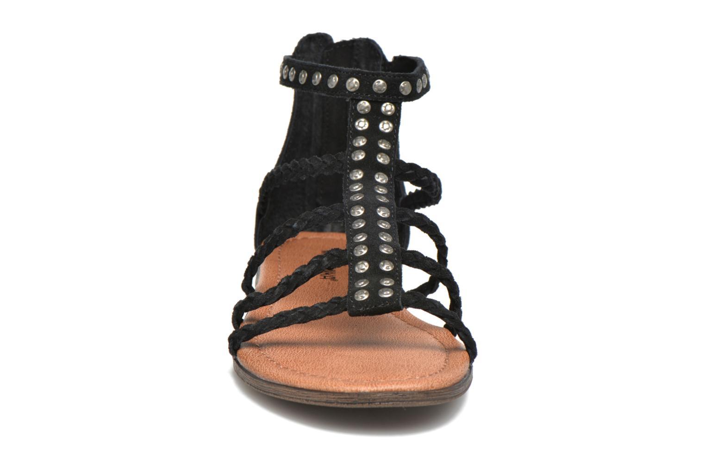 Sandales et nu-pieds Minnetonka Catalina Sandal Noir vue portées chaussures