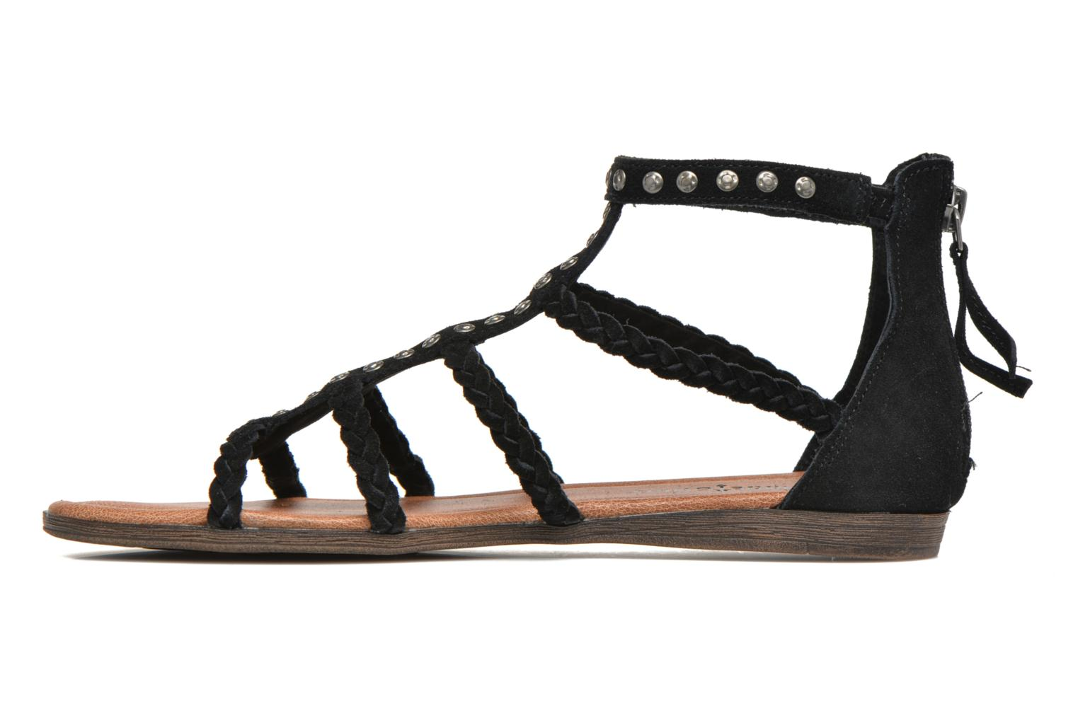 Catalina Sandal Black Suede