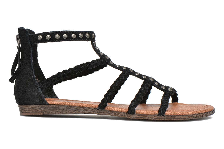 Sandales et nu-pieds Minnetonka Catalina Sandal Noir vue derrière