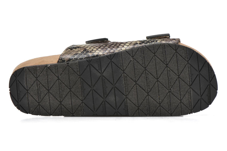 Gipsy Sandal BLACK PYTHON PRINT