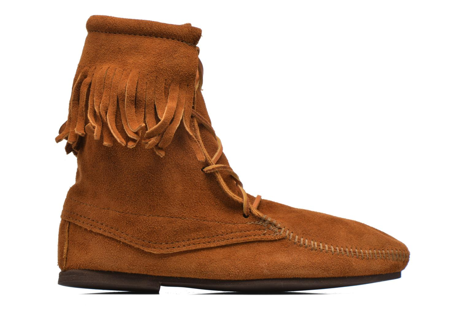 Ankle boots Minnetonka Tramper Bt H Brown back view