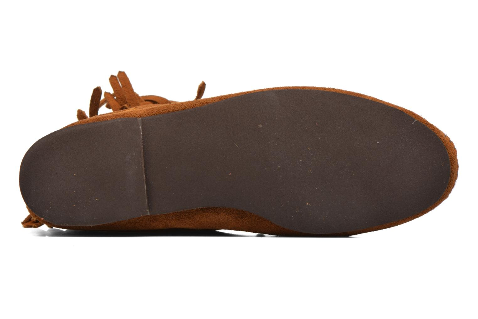 Ankle boots Minnetonka Tramper Bt H Brown view from above