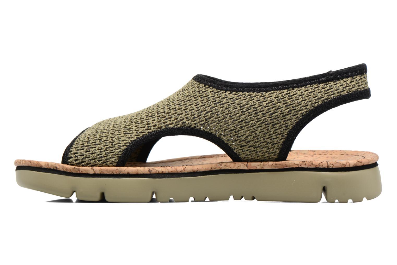 Sandales et nu-pieds Camper Oruga K200360 Vert vue face
