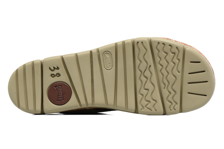 Sandales et nu-pieds Camper Oruga K200360 Vert vue haut