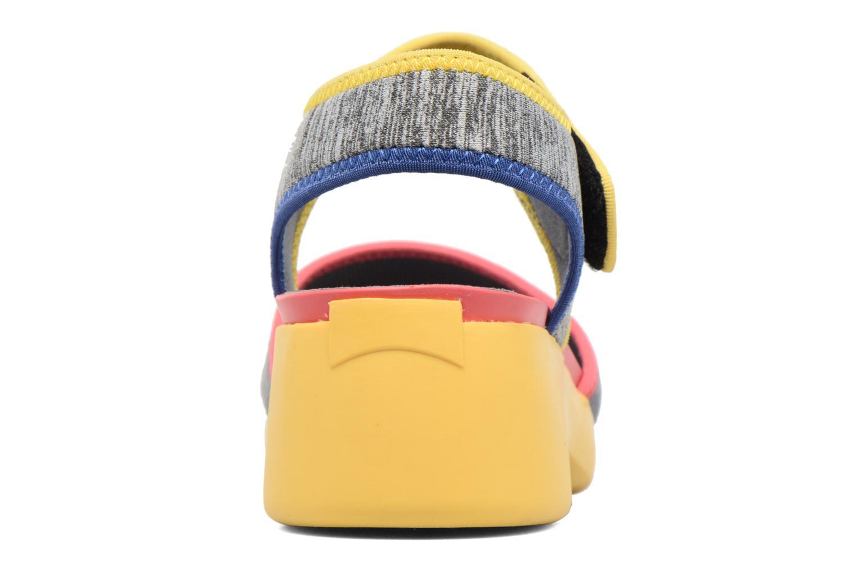 Sandales et nu-pieds Camper Spark K200454 Gris vue droite