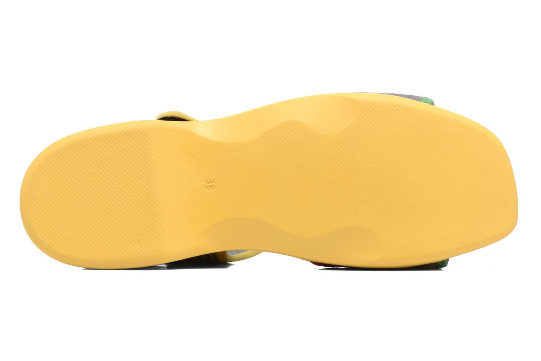 Sandales et nu-pieds Camper Spark K200454 Gris vue haut