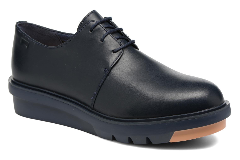 Chaussures à lacets Camper Marta K200114 Bleu vue détail/paire