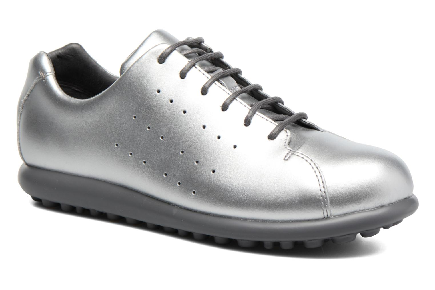 Trainers Camper Pelotas XL K200458 Silver detailed view/ Pair view