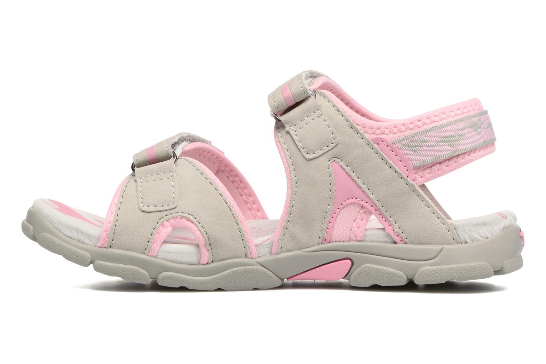Sandals Kangaroos Corgi 2 Pink front view